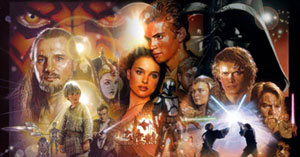 Star Wars Prequel Poster Montage