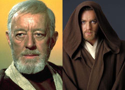 Obi-Wan Kenobi: Sir Alec Guinness &#038; Ewan McGregor