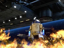 R2-D23 in Flame