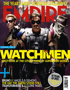 Empire's Watchmen Covers
