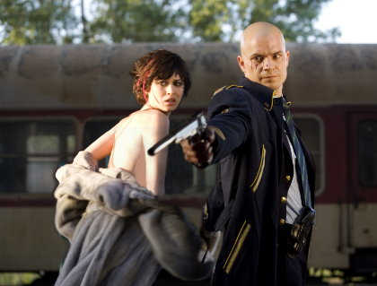 olga kurylenko hitman. Olga Kurylenko is New Bond