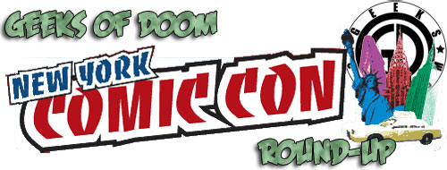 Geeks of Doom invade New York Comic Con