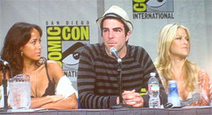 SDCC 2008: Heroes Villains Panel