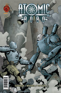 Red 5 Comics - Atomic Robo #5