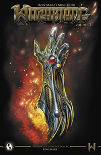 Top Cow's Witchblade Volume One Trade Paperback