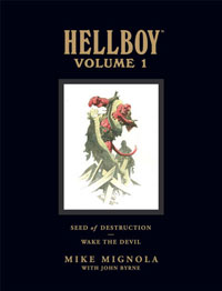 Hellboy Library Edition Volume 1
