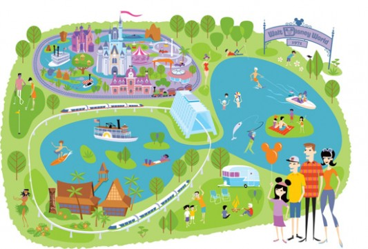 walt disney world map 2011. SHAG at Walt Disney World