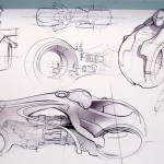 Tron Legacy Viral Campaign: Concept Art for the Next Generation LightCycle 07