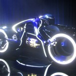 Tron Legacy Viral Campaign: A Real Live Next Generation LightCycle on Display at Flynn's Arcade 02