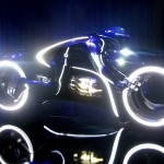 Tron Legacy Viral Campaign: A Real Live Next Generation LightCycle on Display at Flynn's Arcade 03