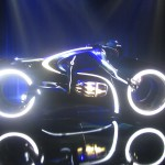 Tron Legacy Viral Campaign: A Real Live Next Generation LightCycle on Display at Flynn's Arcade 04