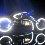 Tron Legacy Viral Campaign: A Real Live Next Generation LightCycle on Display at Flynn's Arcade 05