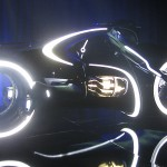 Tron Legacy Viral Campaign: A Real Live Next Generation LightCycle on Display at Flynn's Arcade 06