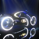 Tron Legacy Viral Campaign: A Real Live Next Generation LightCycle on Display at Flynn's Arcade 07
