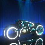 Tron Legacy Viral Campaign: A Real Live Next Generation LightCycle on Display at Flynn's Arcade 08