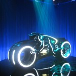 Tron Legacy Viral Campaign: A Real Live Next Generation LightCycle on Display at Flynn's Arcade 09