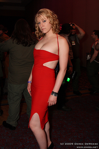 Cosplay Women of Dragon Con: Battlestar Galactica's Caprica 6