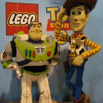 SDCC 2010: Preview Night: Toy Story Lego Statues of Buzz Lightyear and Woody