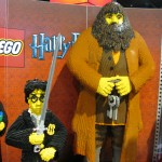 SDCC 2010: Preview Night: Toy Story Lego Statues of Harry Potter and Hagrid