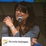 SDCC 2010: Battle Los Angeles panel: Michelle Rodriguez 02