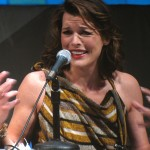 SDCC 2010: Resident Evil: Afterlife panel: Milla Jovovich 09
