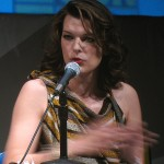 SDCC 2010: Resident Evil: Afterlife panel: Milla Jovovich 07
