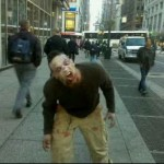 Walking Dead zombies invade NYC - Penn Station