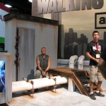 SDCC 2011: Preview Night: AMC Walking Dead Booth