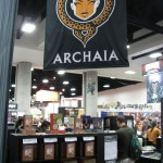 SDCC 2011: Preview Night: Archaia Booth
