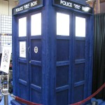 SDCC 2011: Preview Night: BBC Television Booth: TARDIS!