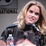 SDCC 2011: The Raven panel: Alice Eve