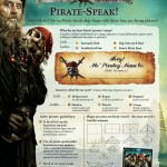 Pirates of the Caribbean Pirate Lexicon