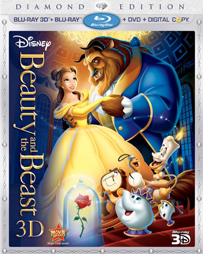 Deal Disney S Beauty And The Beast The Lion King 3d Blu Ray Diamond Edition