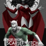 Avengers Origins Scarlet Witch & Quicksilver Cover