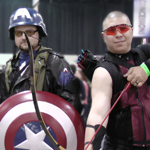 MCCC 2012 Cosplay: Captain American and Hawkeye