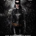 The Dark Knight Rises Catwoman in Rain Poster