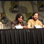 SDCC 2012: Big Bang Theory panel: Kaley Cuoco, Kunal Nayyar, Simon Helberg, Melissa Rauch