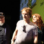 SDCC 2012: HBOs Game of Thrones panel: George R.R. Martin, Alfie Allen, Rose Leslie, Richard Madden