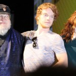 SDCC 2012: HBOs Game of Thrones panel: George R.R. Martin, Alfie Allen, Rose Leslie