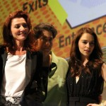 SDCC 2012: HBOs Game of Thrones panel: Richard Madden, Michelle Fairley, producer Carolyn Strauss, Emilia Clarke