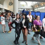 SDCC 2012: Cosplay: Catwoman and Zatanna
