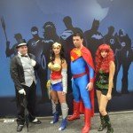 SDCC 2012: Cosplay: Penguin, Wonder Woman, Superman, and Poison Ivy