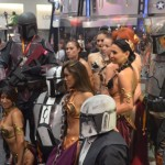 SDCC 2012: Cosplay: Star Wars: Lots of Slave Leias and Bounty Hunters