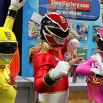 SDCC 2012: Cosplay Round-Up: Power Rangers