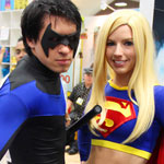SDCC 2012: Cosplay Round-Up: Nightwing and Supergirl