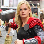 SDCC 2012: Cosplay Round-Up: Thor crossplay
