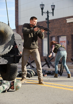 Chris Hemsworth in Red Dawn