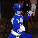 Dragon*Con 2012: Cosplay: Blue Power Ranger