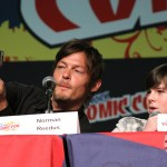 NYCC 2012: The Walking Dead panel: Norman Reedus and Chandler Riggs