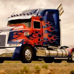 Optimus Prime New Truck Body For Transformers 4